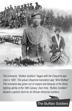 This is a poster by Sankofa Designs that pays tribute to the life and the legacy of the Buffalo Soldiers and explains where the name came from. One of my favorite posters that pays tribute to the 9th and 10th calvary. Available framed or unframed. #buffalosoldier #blackhistory #army...