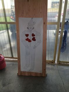 Wizard of oz party ideas Parites by Rebecca… Pin the heart on the tinman game!
