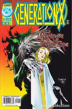 GENERATION X #22, MARVEL, 1.996, USA
