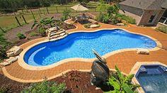 Cancun ~ Viking Pools ~ Free Form Design ~ Gary's Pool and Patio ~ San Antonio, TX