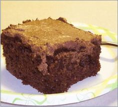 Chocolate Cream Couscous Cake Recipe