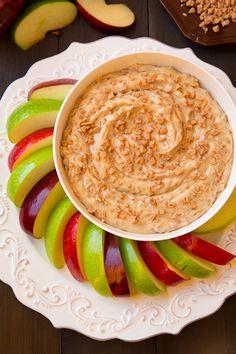 Apple Toffee Dip {3 ingredients} | Cooking Classy