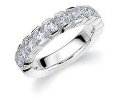 Diamond Wedding Bands | Diamond Anniversary Rings | Diamond Anniversary Bands