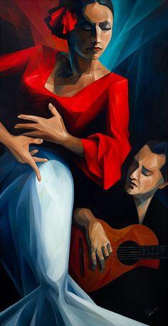 L'art Du Portrait, Dance Paintings, Beautiful Paintings, Figurative Art, Art Pictures, Art Drawings, Illustration Art, Canvas Prints, Fine Art