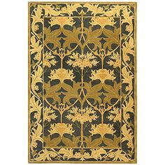 Safavieh Anatolia Collection AN541A Handmade Traditional Oriental Navy and Sage Wool Area Rug 8 x 10 ** See this great product.