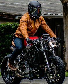 Ducati Cafe Racer/Brat Style