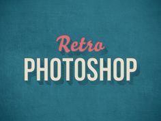 Apply any text and symbols into a retro/vintage look with this Free Retro Photoshop Text Effect. Available in PSD Photoshop format to help you replace current text with your own quickly and easily. Noc advance Photoshop skills are required.Not just text… Photoshop Text Effects, Free Photoshop, Photoshop Brushes, Photoshop Design, Photoshop Tutorial, Photoshop Actions, Photoshop For Photographers, Photoshop Photography, Photoshop Illustrator