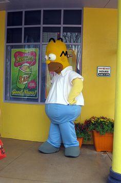 Universal Orlando - Universal Studios Florida - The Simpsons Ride - Homer Simpson