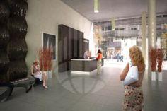 Brněnské Titanium nabízí jak pohodlné kanceláře vybavené vším potřebným, tak příjemnou relaxační zónu přímo v centru města.
