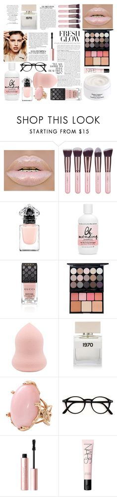 """Beauty board"" by thestyleartisan ❤ liked on Polyvore featuring beauty, By Terry, Luxie, Guerlain, Bumble and bumble, Gucci, NYX, Bella Freud, Lucifer Vir Honestus and Too Faced Cosmetics"