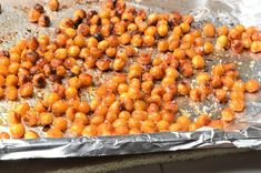 Roasted Chickpeas  These can get a little addictive - like chips with health benefits!