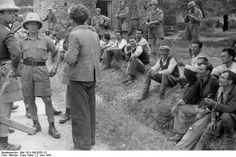 02 06 1941. The first brutal massacre in Europe during the WWII by German Huns.  The 23 fallen Heroes of Greece.  Fallschirmjäger.net - Kondomari Massacre
