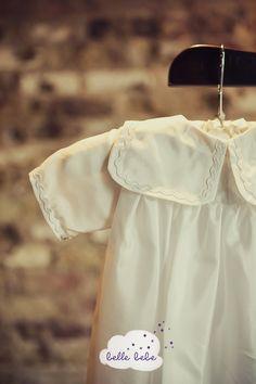 Dove silk christening #gown http://www.bellebebe.co.uk/  #christening #baptism #gown #baby #dedication #blessing #heirloomgown #babyblessing #babybaptism #christeninggown #babtismgown #baptismdress