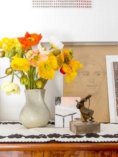 flowers + art.