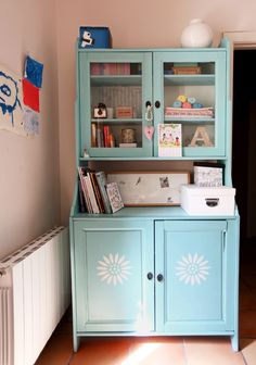Really cute makeover of Ikea furniture. I need this in our office.