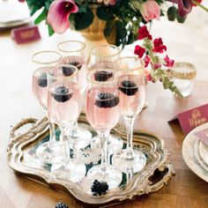 Stunning berry colored wedding inspiration shoot from Anastasiya Belik.