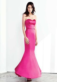 Colour by Kenneth Winston 5283L Sweetheart Bridesmaid Dress