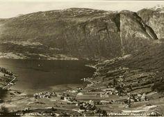 Sogn og Fjordane fylke Stryn kommune Olden i Nordfjord Utg Widerøe
