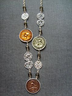 bijoux nespressart: collares largos
