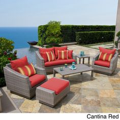 An afternoon spent on your patio can be a stolen moment in time. Deep outdoor seating that lets you relax. And a place to get away from it all, exactly what outdoor sectionals were made for. Which is why RST Outdoor designed the Cannes Collection.