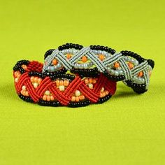 Beaded ZigZag Bracelet Tutorial