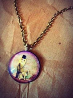 Bronze whimsical girl necklace 2 - £6.00 - Creative Connections