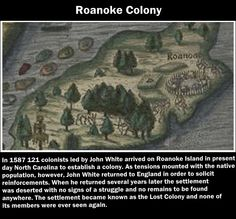 The disappearance of Roanoke Colony