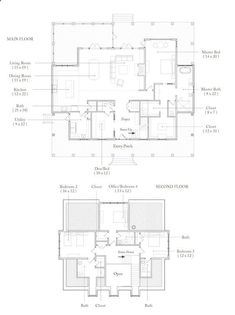 Palmetto Bluff - Wharton Really like this floor plan - possibly eliminate BR 4 and have a rec/play room - would love to have both BR 4 and rec/playroom - maybe increase the size of the house to accomodate. New House Plans, Dream House Plans, Low Country Homes, Country Houses, Cracker House, Floor Plan Drawing, Farmhouse Floor Plans, Palmetto Bluff, Villa Plan