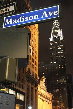 Cartel de Madison Avenue | NYC