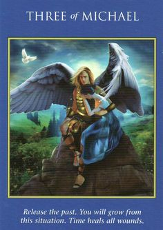 Your Week in Tarot: January 2016 St. Michael, Archangel Prayers, Angel Quotes, Angel Guidance, Time Heals, Oracle Tarot, Angels Among Us, Angel Cards, Guardian Angels