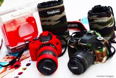 Carmen Cotugno blogs about easyCover! Check it out: http://www.carmy1978.com/2016/10/cover-reflex-easycover.html. #camouflage #red #lensring #lenscase #cameracase