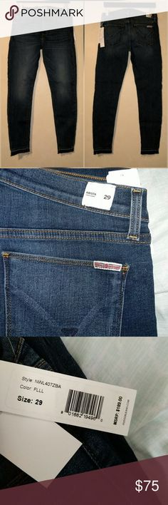 "Hudson Krista Super Skinny Jeans in FLLL New with tags. Perfect condition. No trades. Approximate measurements: Waist flat across 15.75"" Rise 9"" Inseam 28"" Hudson Jeans Jeans Skinny"