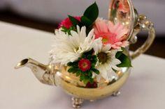 flowers in teapots - Google Search