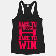 Dare To Struggle, Dare To Win #fitness #workout #motivation #fitspiration #sweat #muscles #strong #gym