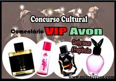 !*Mi interessa*: Resultado do Concurso Cultural Coleção VIP Avon