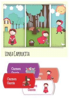 nuevos diseños de etiquetas - Linea Caperucita