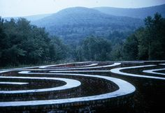 Michael Ayrton –The labyrinth of Arkville, Delaware, New York (1968-1970)