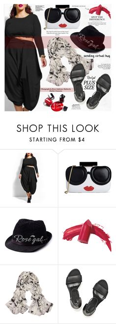Plus Size by katjuncica on Polyvore featuring Alexander Wang, Alice + Olivia, Elizabeth Arden, Chanel and plussize