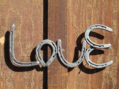 Horseshoe Love Decor