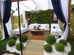 jardines y terrazas minimalistas   inspiración de diseño de interiores