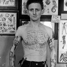 Les Skuse tattoos