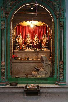 Rama Shrine | Varanasi, Uttar Pradesh, India  #hindu √