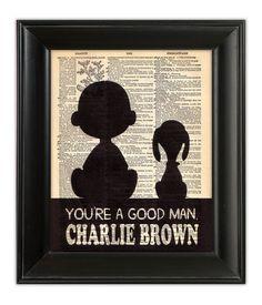 SNOOPY Charlie Brown Peanuts Nursery Friends by PatricianPrints, $10.00