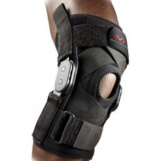 McDavid Hinged Knee Brace With Crossing Straps Zwart