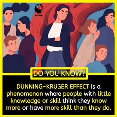 """One of the greatest example of the Dunning Kruger Effect:  McArthur Wheeler from Pittsburg covered his face with lemon juice and attempted to rob a bank. Wheeler had learned that one could use lemon juice as invisible ink. """"Magicians"""" use this trick for children by using lemon juice to write on a piece of paper and then heat it making the words appear. After learning this, Wheeler believed that unheated lemon juice would make his face to disappear and become unrecognizable. After he was caught, Random Science Facts, Fun Facts, Invisible Ink, Did You Know Facts, Life Changing Quotes, The Magicians, Knowledge, Positivity, Writing"""