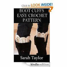 Boot Cuffs - Easy Crochet Pattern