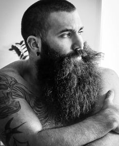 Check out for your bearded apparels and beard care products. Follo… – Men's Hairstyles and Beard Models Long Beard Styles, Beard Styles For Men, Hair And Beard Styles, Short Hair Styles, Epic Beard, Sexy Beard, Great Beards, Awesome Beards, Guys With Beards