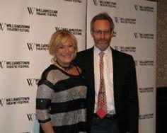 Actress Jayne Atkinson and husband, actor Michel Gill.