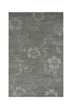 Chelsea Hand Knotted Wool Blend Rug - Blue on HauteLook