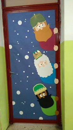 3 μάγοι (στολισμός πόρτας) πατρόν Α3 για εκτύπωση printable patterns christmas door decoration
